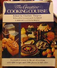 1982 The Creative Cooking Course by Charlotte Turgeon - 1200 recipes 2500 photos