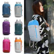 Small Unisex School Shoulder Backpack Rucksack Travel Camping Hiking Gym Bag Hot