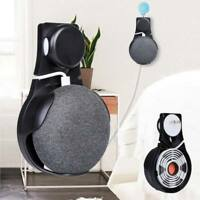 Wall Outlet Mount Holder Hanger Grip for Google Home Mini Voice Assistants