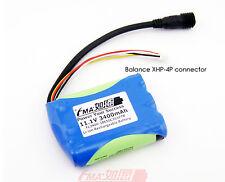 12V Solar LED light Battery 11.1V 3400mAh Panasonic Li-ion 18650B w/PCM XHR-4P