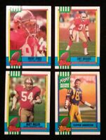 1990 1991 1992 1993 Topps Football Finish Complete your set 40 cards $1.00