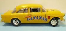 "1/18 Custom made, ""Street Outlaws""  1955 Chevy Drag car, "" Gone Bannas III "" ,"