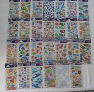 STICKO EK SUCCESS Stickers NIP BEACH, CAMP, FISH, POOL, TRAVEL U PICK SHIPS FREE