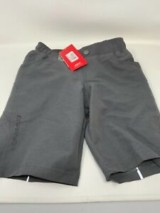 Garneau Range 2 Junior Bike Shorts/Kids Size US 8 Girls New With Tag Blue Chamoi