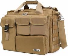 17.3 Laptop Messenger Bag Computer Shoulder Handbag Multi Functional Briefcase