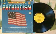 God Bless America LP A Child's Introduction to Patriotism M/VG++