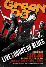 GREEN DAY 2015 CLEVELAND CONCERT TOUR POSTER - Punk/Alt Rock, Pop Punk Music