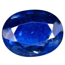 3.35 ct AA+ Impressive Oval Shape (11 x 8 mm) Blue Kyanite Natural Gemstone