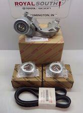 Toyota Avalon Camry Sienna V6 Serpentine Drive Belt Kit Genuine OEM OE
