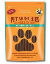 Pet Munchies Beef Liver Sticks 4 x Packs (90g/Pack)