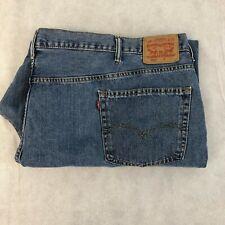 Levi Strauss 550 Men's Blue Jean Size 58x32 Denim 5 Pocket Levis Zipper Big 58
