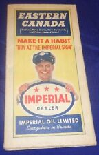 BS609 Imperial Oil Co. Eastern Canada Road Map 1941