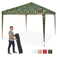 Camouflage Canopy Tent Gazebo Camo Sunshade Yard Patio Cover Carry Case Furnitur