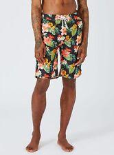 Black Hawaiian Surfer Board Shorts NEW Normally £25 - Stunning holiday sports