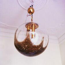 1970s  Mid-Century Murano Glass LA Murrina Italian Pendant lamp Chandelier
