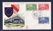 enveloppe 1er jour   conseil de l' Europe  Strasbourg      1984