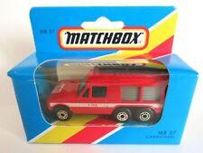 Matchbox Superfast Diecast Fire Vehicles