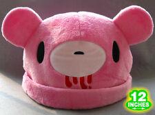 Adult Size 12'' Gloomy Bear Hat Plush Cap Pink Cute GBHT5701