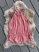 TRINA TURK 100% Silk Sleeveless Blouse Tunic Top Size Small