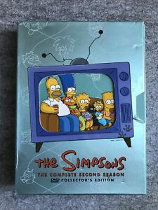 The Simpsons - The Complete Second Season (DVD, 2012, 4-Disc Set) Exc Cond