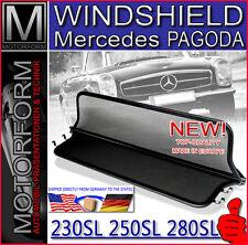 MERCEDES SL 113 PAGODA WINDSTOP WIND STOP DEFLECTOR WINDSHIELD 230SL 250SL 280SL
