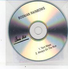 (DS420) Bosnian Rainbows, Torn Maps / Always On The Run - 2013 DJ CD
