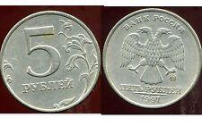 RUSSIE   5 roubles 1997  ( bis )