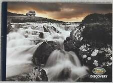 1993 Land Rover Discovery 24 page brochure