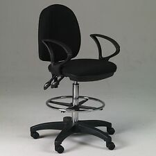 ADJUST & TILT Drafting Counter Height Chair Stool | NEW