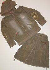 NWT Mish Girls Corduroy Jacket & Skirt Set, sz 8 Mish Mish
