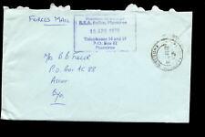 RHODESIA 1978 BSA POLICE OFFICIAL COVER PLUMTREE