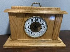 Custom Wood Mantel Clock (Carl Lindell) (Sept. 1998)