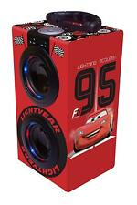 Disney Cars - Tower Sound Laptop and Luminous with Bluetooth, Red Bus Lexibook