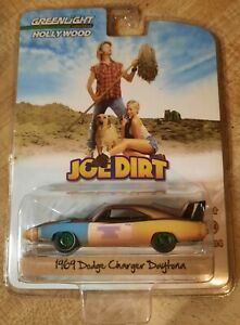 GREENLIGHT HOLLYWOOD SERIES 4 JOE DIRT 1969 DODGE CHARGER DAYTONA GREEN MACHINE