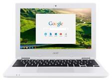 NEW Acer 11.6 inch ChromeBook Intel N3060 2GB RAM 16GB SSD Chrome OS White Color