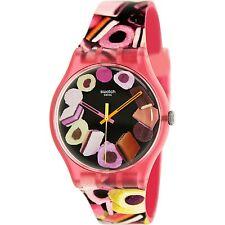 Swatch Women's Originals SUOP102 Multi Rubber Swiss Quartz Fashion Watch