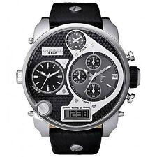 New Diesel * SBA Chronograph Black DZ7125 * Men's Watch
