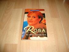 ROSA EL GRAN EXIT DE TV3 LIBRO NOVELA DE RAFAEL VALLBONA I SALLENT EN CATALAN