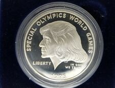 1995-P Special Olympics World Games Silver Dollar Proof