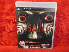 ps3 SAW The Official Video Game 18+ Survival Horror PAL UK REGION FREE