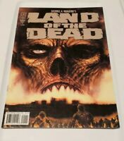 Land of the Dead 1 Comic Book IDW 1st print