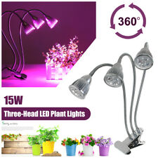 LED Grow Light Lamp Growing Bulbs Holder Clip For Plant Flower Indoor Greenhouse