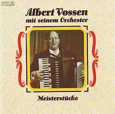 """ALBERT VOSSEN mit seinem Orchester """"Meisterstücke"""" PILZ 1992 CD NEU & OVP"""