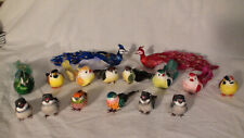 78 Assortment of Craft Birds for Floral Decorations etc.