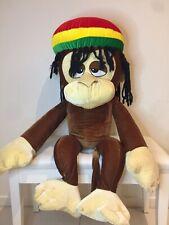 Rasta Reggae Bob Marley Chilled Cute Stoned Huge Monkey Plush Toy 95cm Tall Wow