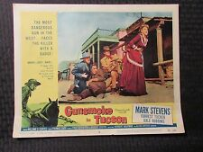 "1958 GUNSMOKE IN TUCSON Original 14x11"" Lobby Card #8 VG 4.0 Mark Stevens"