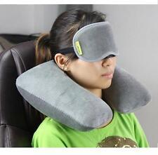 JT Sleeping Eye Mask Soft Blindfold Shade Padded for Travel Flight Sleep - GREY