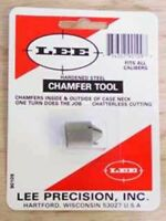 LEE CHAMFER TOOL Reloading Shooting Rifle Pistol BQ