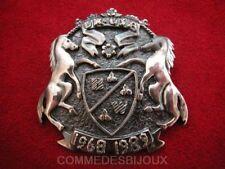 """Broche """"Armoiries"""" N° 2 Blason Ecu Chevaux - Bijoux Vintage Butler & Wilson"""