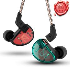 Headphones Earbuds 5 Balanced Armature Driver In Ear Earphone HIFI Bass 2pin
